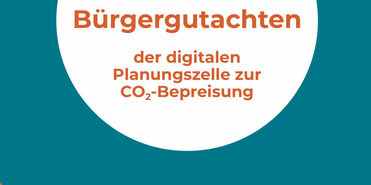 Broschuere Buergergutachten CO2 Bepreisung 2020