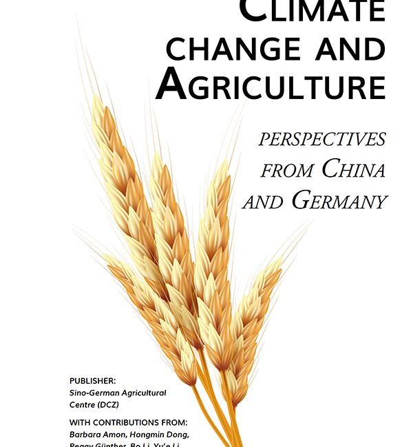Climate change and Agriculture perspectives from China and Germany Seite 1