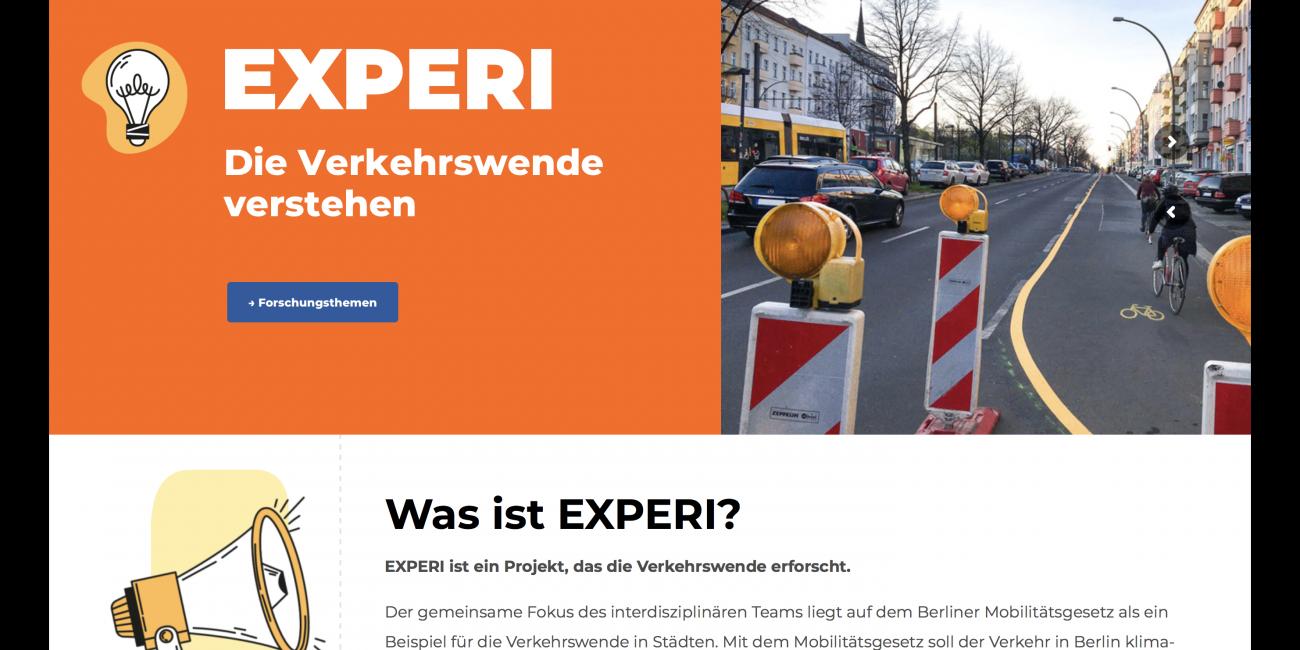 EXPERI Verkehrswende Nachhaltigkeit Sozial Mobilitaet Teaser