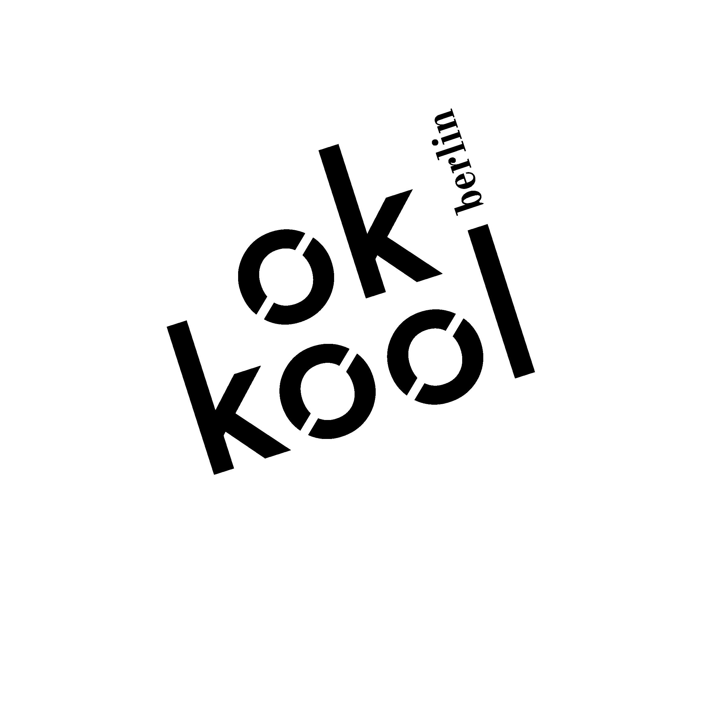 logo okkool werbeagentur schrift